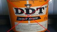 Le DDT, interdit en 1972.