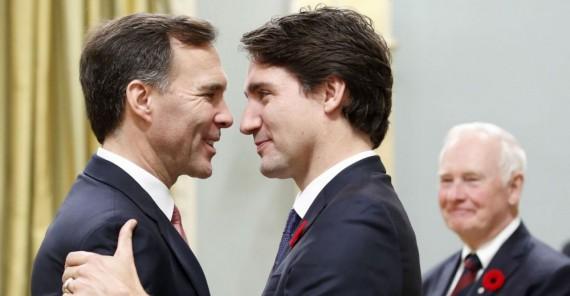Justin Trudeau Canada déficit
