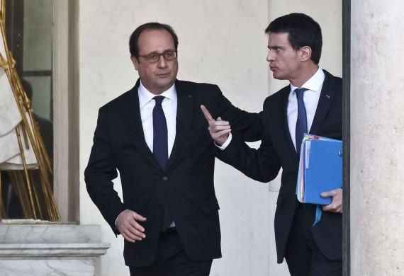 Nouvelle chute popularité Hollande