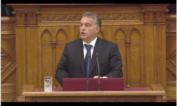 Victor Orban migrants illégaux hordes mal