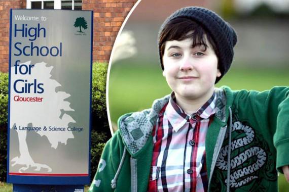 collège anglais filles accueille garçon 13 ans transgenre