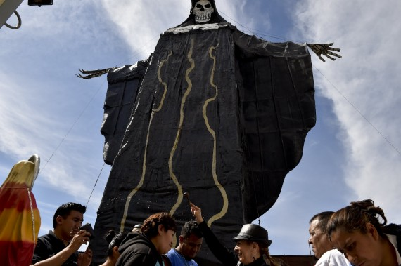 culte satanique Sainte Mort Mexique catholiques