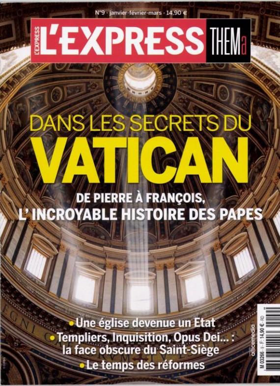 secrets Vatican Express Thema synthèse libérale Eglise
