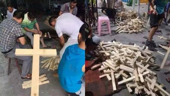Mgr Johan Fang Xinjao l'Eglise patriotique chinoise au secours de l'élimination des croix de la sphère publique