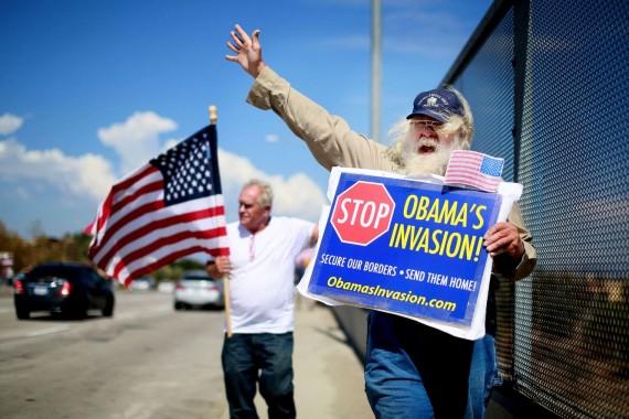 Américains pensent immigration met danger nation opinion augmente chiffre