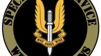 Logo et devise du SAS (Special Air Service), régiment de l'armée britannique créé en 1950.