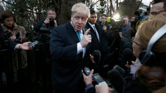 Maire Londres Johnson dénonce Europe peur