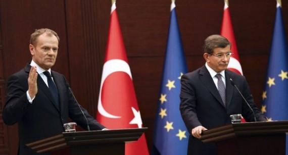 Migrants annonces Tusk Turquie