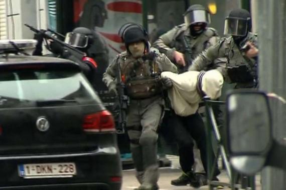 Salah Abdeslam arrêté Belgique