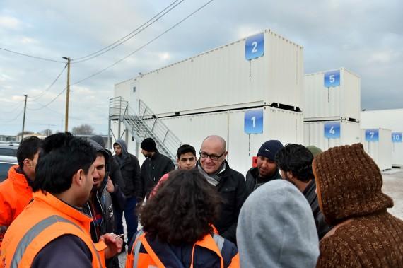 Site gouvernement jungle Calais vérité aseptisée