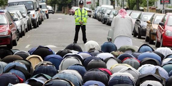 hausse soutien musulmans islam radical Royaume Uni