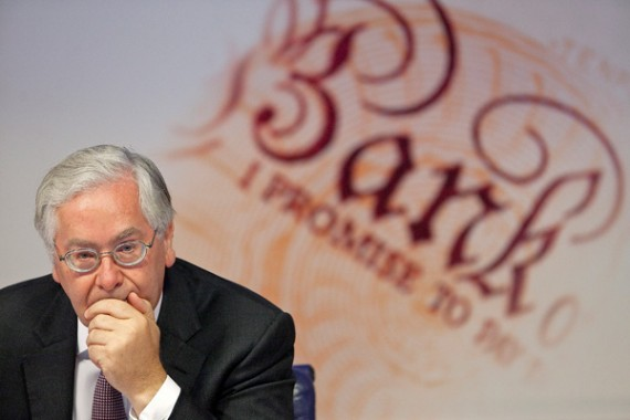 zone euro désastre gouverneur Banque Angleterre domination allemande