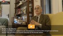 """""""Amoris Laetitia""""L'exhortation apostolique du pape FrançoisEntretien exclusif à Rome avec Roberto de Mattei"""