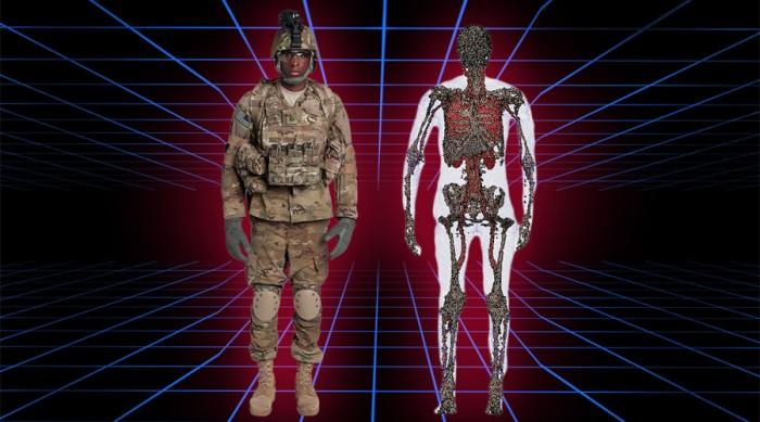 Armée américaine avatars soldats 3D