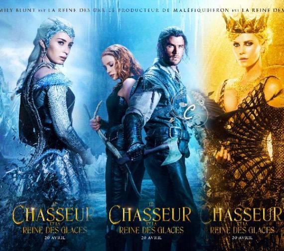 Chasseur Reine Glaces Fantastique Conte Film