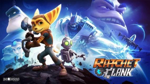 Ratchet Clank science fiction enfants dessin animé film numérique