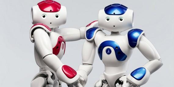 Robots réponse physiologique émotionnelle toucher