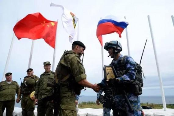 Russie coopérer Chine paix régionale sécurité