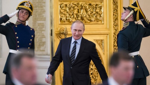 Vladimir Poutine Garde nationale lutte terrorisme crime organisé