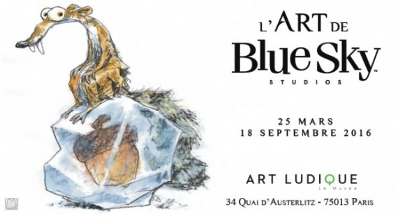 Art Blue Sky Studios Exposition Dessin Animé