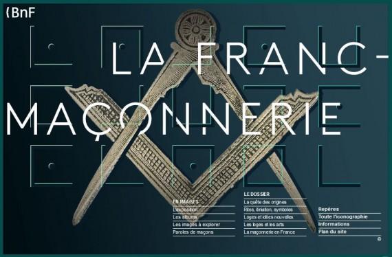 Bibliothèque Nationale France BNF exposition gloire franc maçonnerie