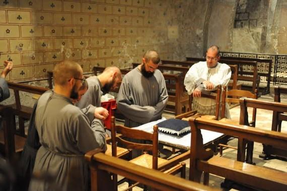 Chartres anneau sainte Jeanne Arc pèlerins
