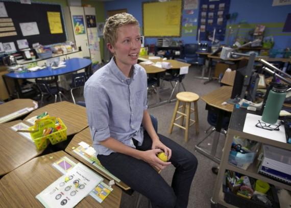 Etats Unis enseignante transgenre indemnisation 60000 dollars collègues