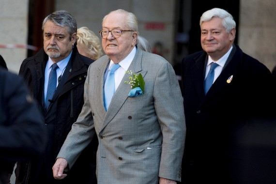 Jean Marie Le Pen 1er mai nouvelles tensions Front national