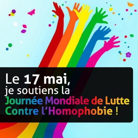 Journée mondiale contre homophobie Propagande Police LGBT
