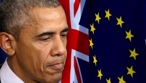Obama Brexit Union européenne Création Américaine