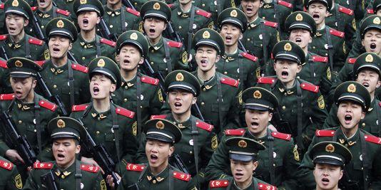 armée chinoise recrute son rap