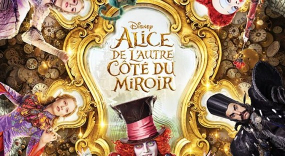 Alice autre côté miroir fantastique enfants film