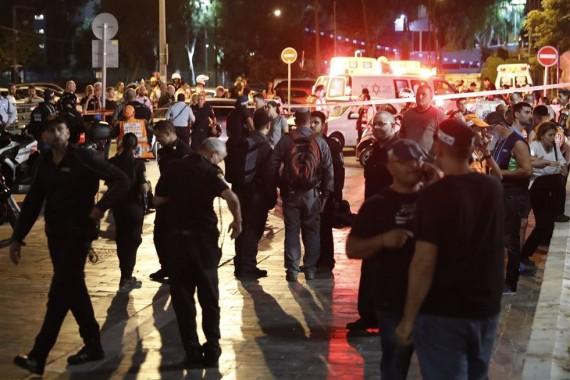 Attaque palestinienne sanglante Tel Aviv