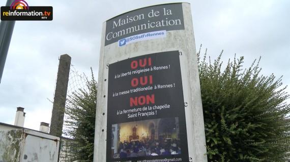 Institut Christ Roi Souverain Pretre messe traditionnelle Rennes Mgr Ornellas