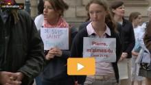 Affaire de l'Institut du Christ Roi de Rennes: manifestation des fidèles…
