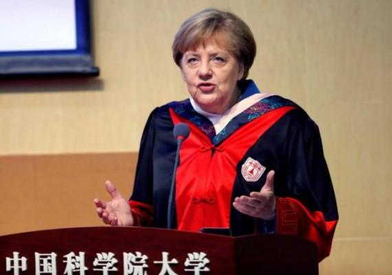 Merkel Chine Visite économique politique