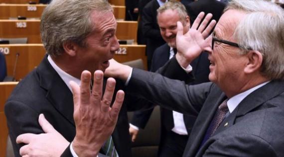 Nigel Farage discours Brexit parlement européen