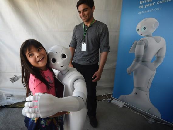Robots émotion Emoshape