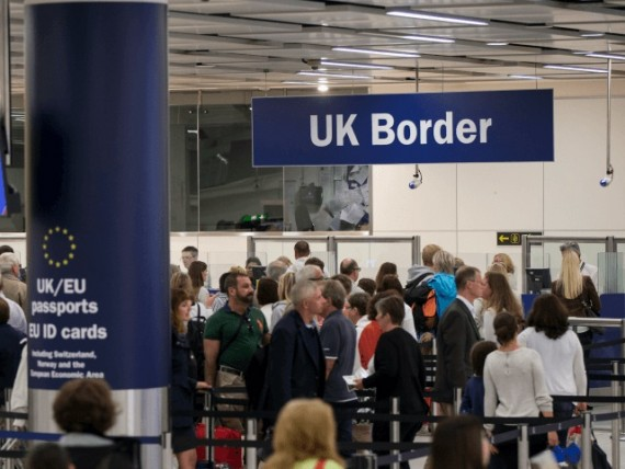 plan britannique européen Turcs visa