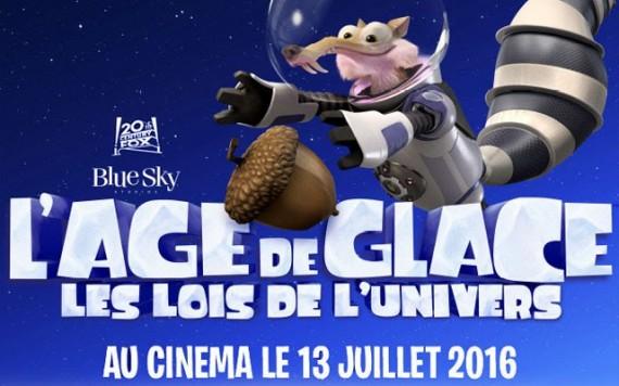 Age glace 5 lois de univers comédie aventure dessin animé