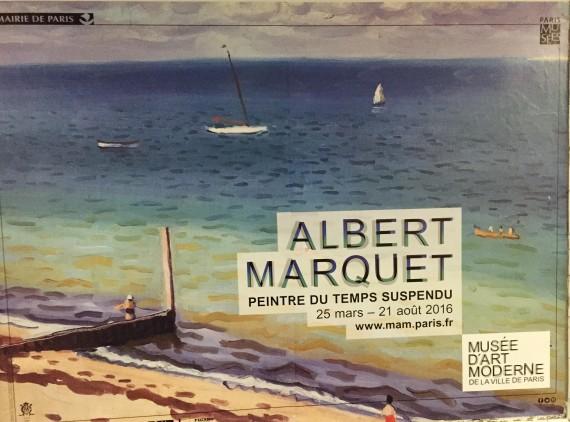 Albert Marquet peintre temps suspendu peinture exposition