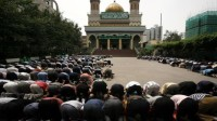 Mosquée Yanghang à Urumqi, capitale du Xinjiang.