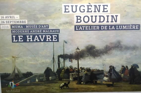 Eugène Boudin atelier lumière Peinture Exposition