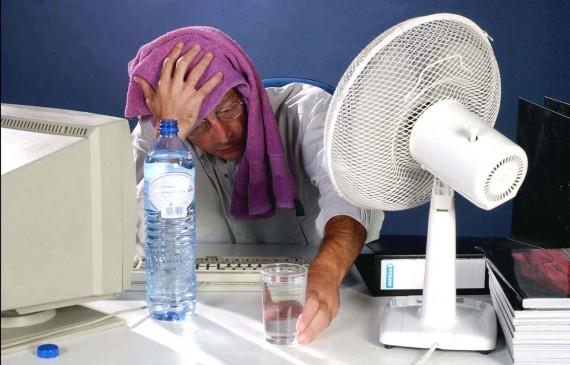 ONU trop chaud travailler réchauffement climatique