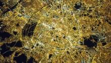 La photo: Voici Paris vu depuis la Station spatiale internationale