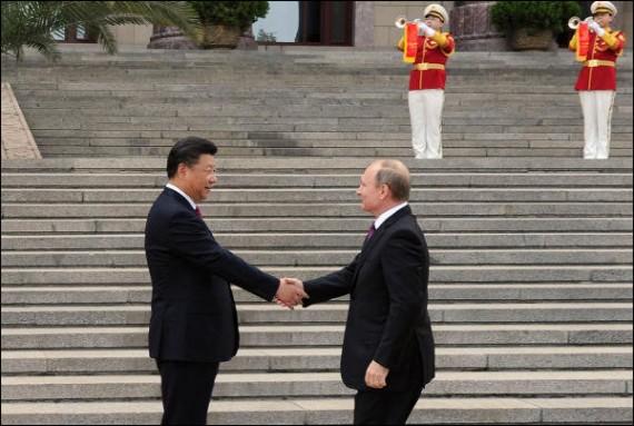 Russie renforce liens Chine
