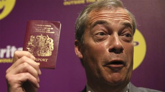 départ Nigel Farage Brexit