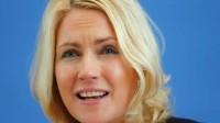 Manuela Schwesig,  ministre de la famille en Allemagne.