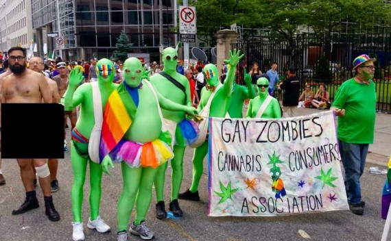 Canada procès zombies gays dangers homosexualité gay pride Toronto