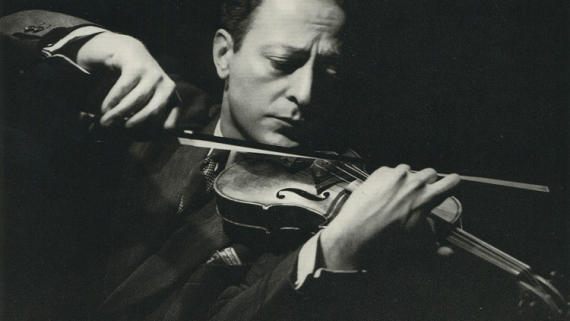 Jascha Heifetz violoniste virtuose concession service musique